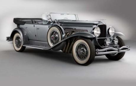 Historie automobilů Duesenberg model J a JS