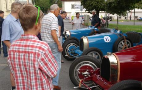 Bugatti 35 B na Zbraslavi